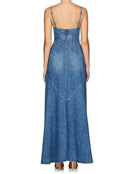 Agnes Denim Maxi Dress by Jean Atelier