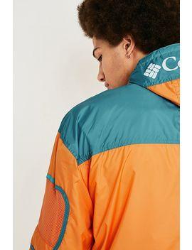 Columbia Orange Windbreaker Jacket by Columbia