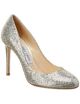 Jimmy Choo Bridget 100 Glitter Pump by Jimmy Choo