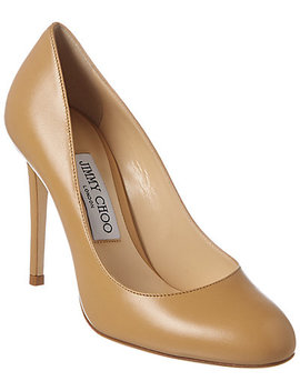Jimmy Choo Bridget 100 Leather Pump by Jimmy Choo