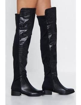 Over The Love Of You Over The Knee Boot by Nasty Gal