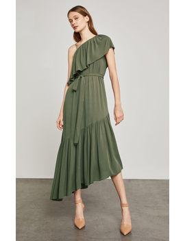 Conrad Off The Shoulder Asymmetrical Dress by Bcbgmaxazria
