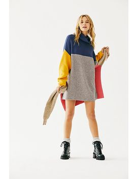 Softly Structured Color Blocked Tunic by Free People