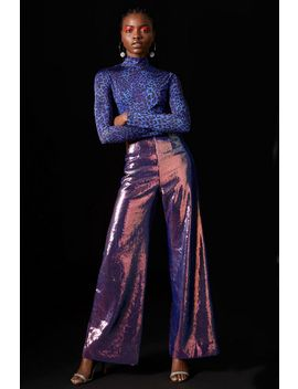 **Hologram Sequin Trousers By Topshop X Halpern by Topshop
