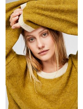 Grandpa Crew Neck Sweater by Free People