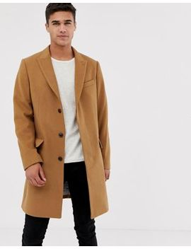 Pier One – Mantel In Camel by Asos