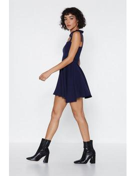 Something New To Tie Mini Dress by Nasty Gal