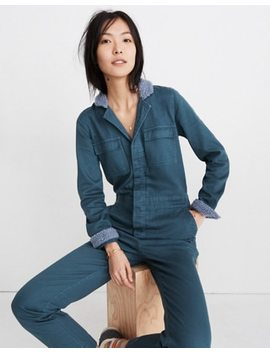 Sherpa Coverall Jumpsuit by Madewell