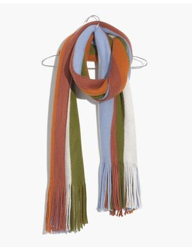 Vertical Stripe Scarf by Madewell