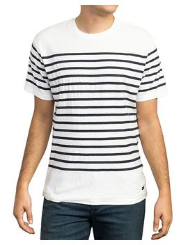 Dean Striped Tee by Rvca