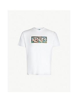 Memento Wild Cotton Jersey T Shirt by Kenzo
