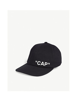 Quote Cap by Off White C/O Virgil Abloh
