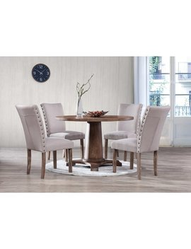Best Master Furniture Carey 5 Pieces Dinette Set by Generic