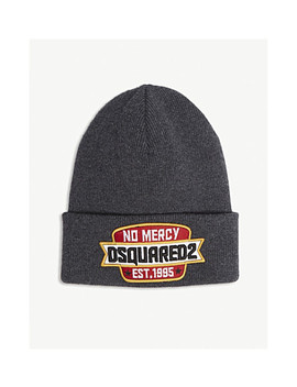 No Mercy Wool Beanie by Dsquared2