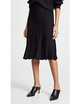 Pleated Skirt by Theory
