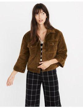 Corduroy Wide Sleeve Jacket by Madewell