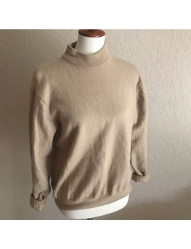 Merino Wool Mock Neck Sweater by Pronto Uomo