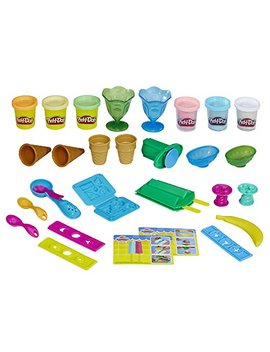 Play Doh Ice Cream Party Dough Art (Amazon Exclusive) by Play Doh