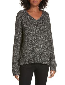Parkland Slouchy Cotton & Wool Sweater by Theory