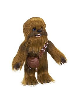 Star Wars Ultimate Co Pilot Chewie Interactive Plush Toy, Brought To Life By Fur Real, 100+ Sound And Motion Combinations, Ages 4 And Up by Star Wars