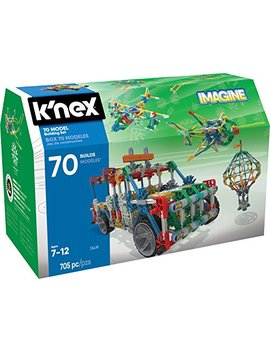 K'nex 70 Model Building Set – 705 Pieces – Ages 7+ Engineering Education Toy by K'nex