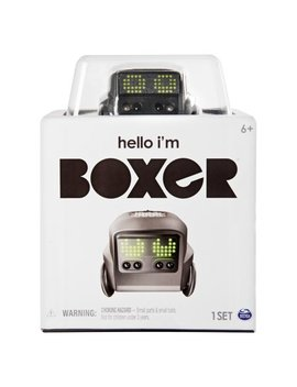 Boxer Interactive A.I. Robot Toy (Black) With Personality And Emotions, For Ages 6 And Up by Boxer