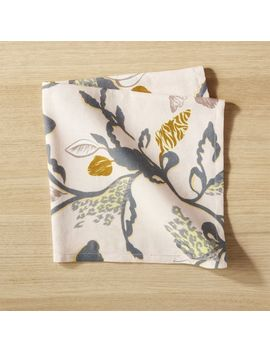 Pink Floral Napkin by Crate&Barrel