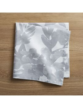 Artiste Grey Napkin by Crate&Barrel