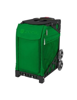 Zuca Emerald Green Sport Insert Bag With Black Frame And Non Flashing Wheels by Zuca