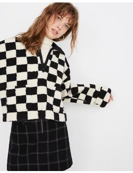 Sherpa Popover In Checkerboard by Madewell