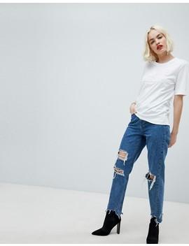 Love Moschino Embossed Logo T Shirt by Love Moschino