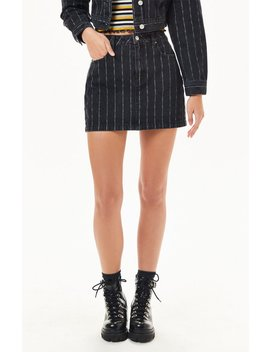 Pac Sun Striped 5 Pocket Skirt by Pacsun