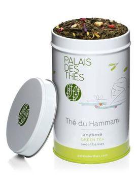 Thé Du Hammam Green Tea   Berries, Orange Flower Water & Dates by Palais Des Thes