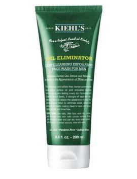 Oil Eliminator Deep Cleansing Exfoliating Face Wash For Men/6.8 Oz. by Kiehl's Since 1851