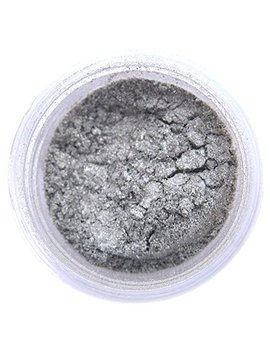 Nu Silver Luster Dust, 4 Gram Container by Sunflower Sugar Art