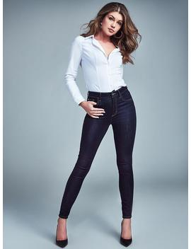 Curve X Skinny Jeans With Crystals by Guess