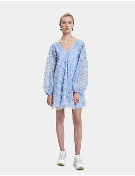 Rosefeld Embellished Mini Dress by Ganni
