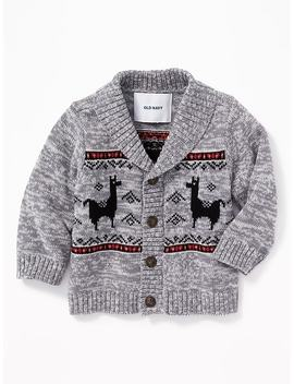 Shawl Collar Fair Isle Cardigan For Baby by Old Navy