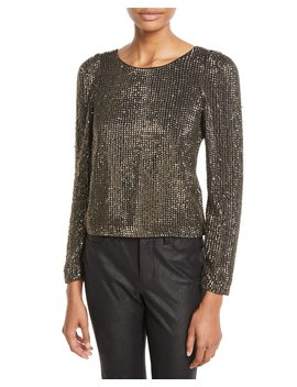 Bailyn Studded Long Sleeve Top by Joie