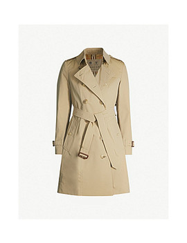 The Heritage Chelsea Cotton Gabardine Trench Coat by Burberry
