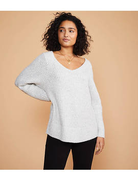 Lou &Amp; Grey V Neck Sweater by Loft