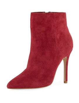 Delicious Suede High Heel Booties by Charles By Charles David