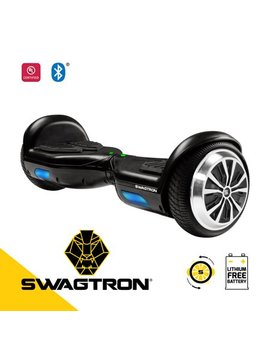 Swagtron Swagboard Twist Lithium Free Ul2272 Certified Hoverboard With Startup Balancing, Dual 250 W Motors, Patented Sentry Shield Quantum Battery Protection by Swagtron