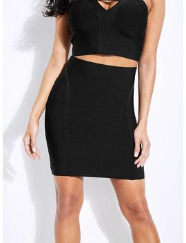 Mirage Bandage Pencil Skirt by Guess