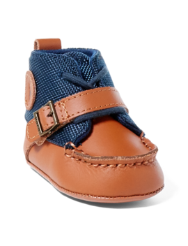 Ranger Leather Boot by Ralph Lauren