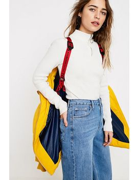 Tommy Jeans Yellow Oversized Hooded Puffer Jacket by Tommy Jeans