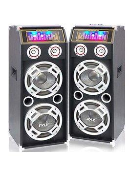 Pyle Psufm1035 A + Psufm1030 P Speaker System Set by Pyle