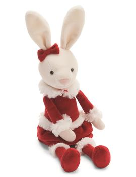 Christmas Small Bitsy Bunny Stuffed Animal by Jellycat