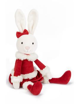 Christmas Bitsy Bunny Stuffed Animal by Jellycat