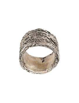 Wood Effect Ring by Tobias Wistisen